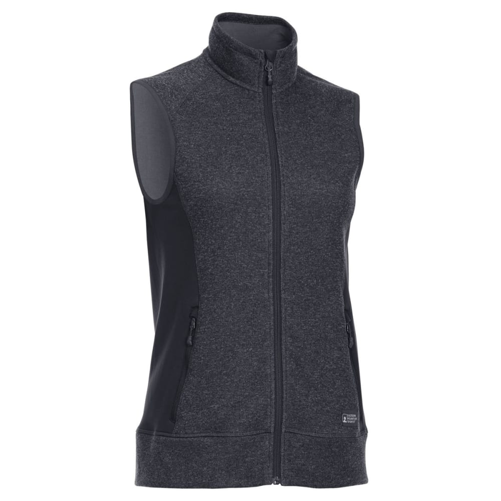EMS Women's Destination Hybrid Sweater Vest - BLACK