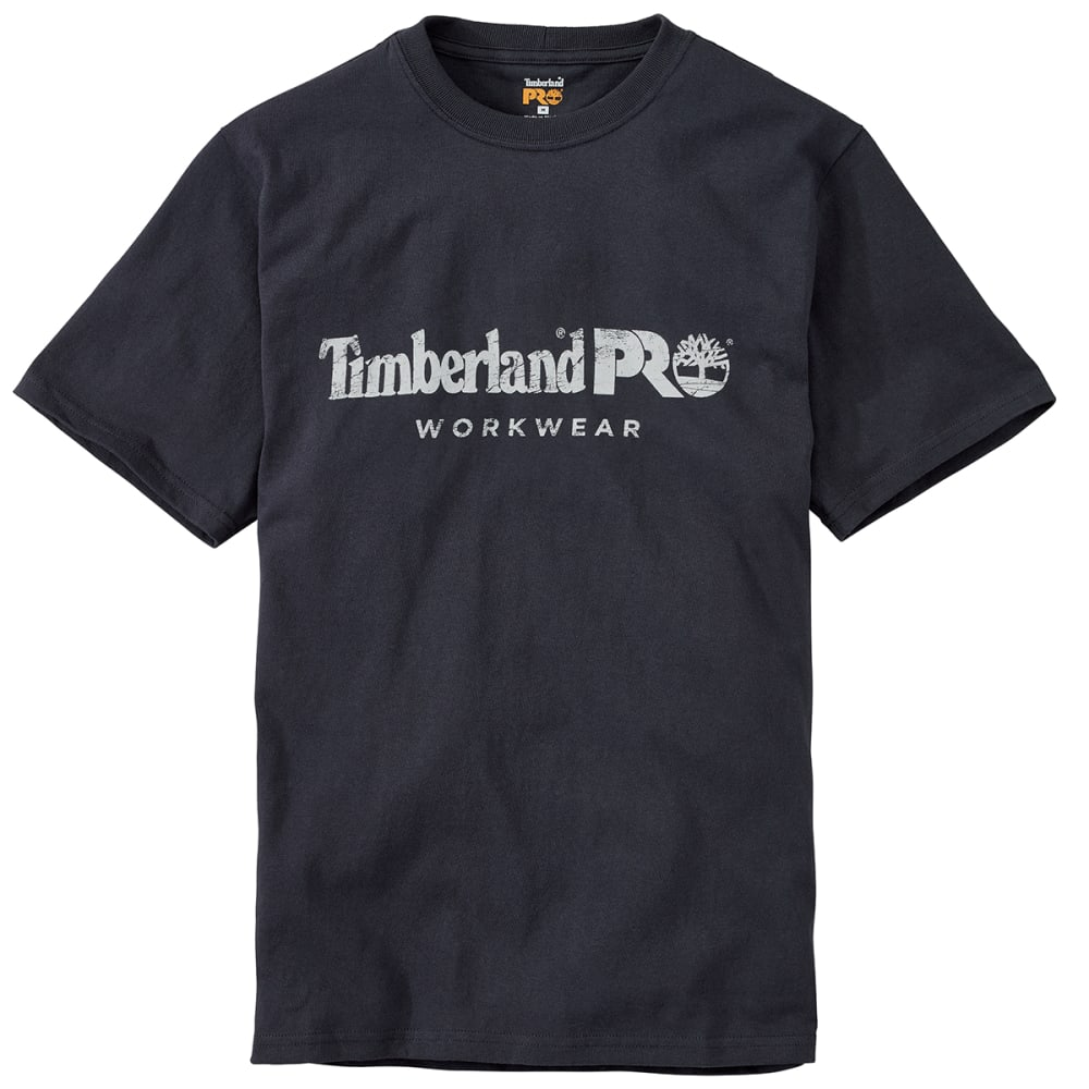 TIMBERLAND PRO Men's Core Cotton Graphic Short-Sleeve Tee - 434 DK NAVY