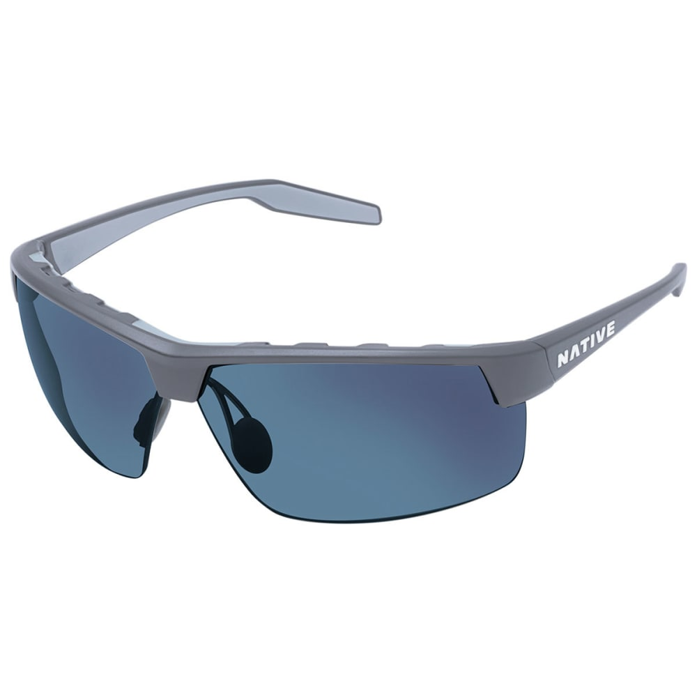 NATIVE EYEWEAR Hardtop Ultra XP Sunglasses, Granite/Blue Reflex - GRANITE