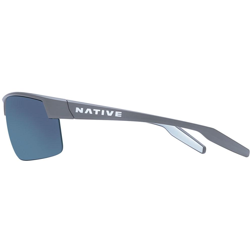 NATIVE EYEWEAR Hardtop Ultra XP Sunglasses, Granite/Blue Reflex - GRANITE
