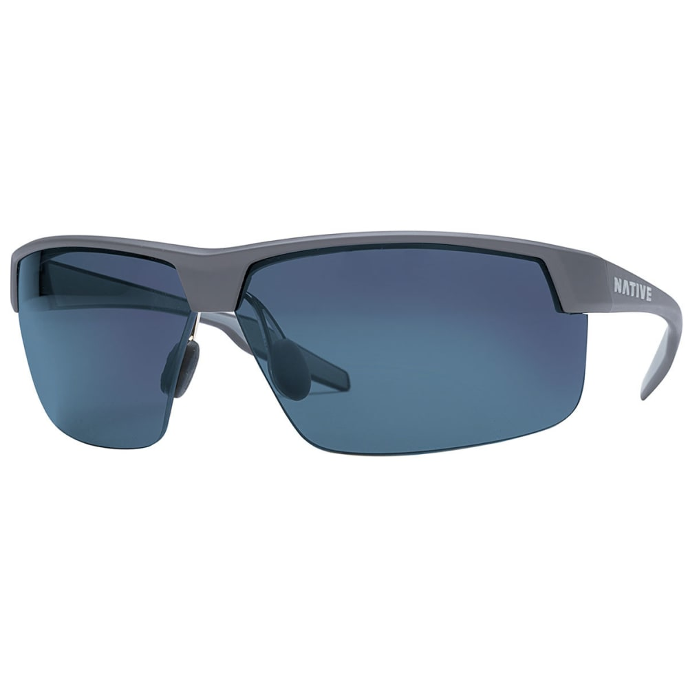 NATIVE EYEWEAR Hardtop Ultra XP Sunglasses, Granite/Blue Reflex NO SIZE