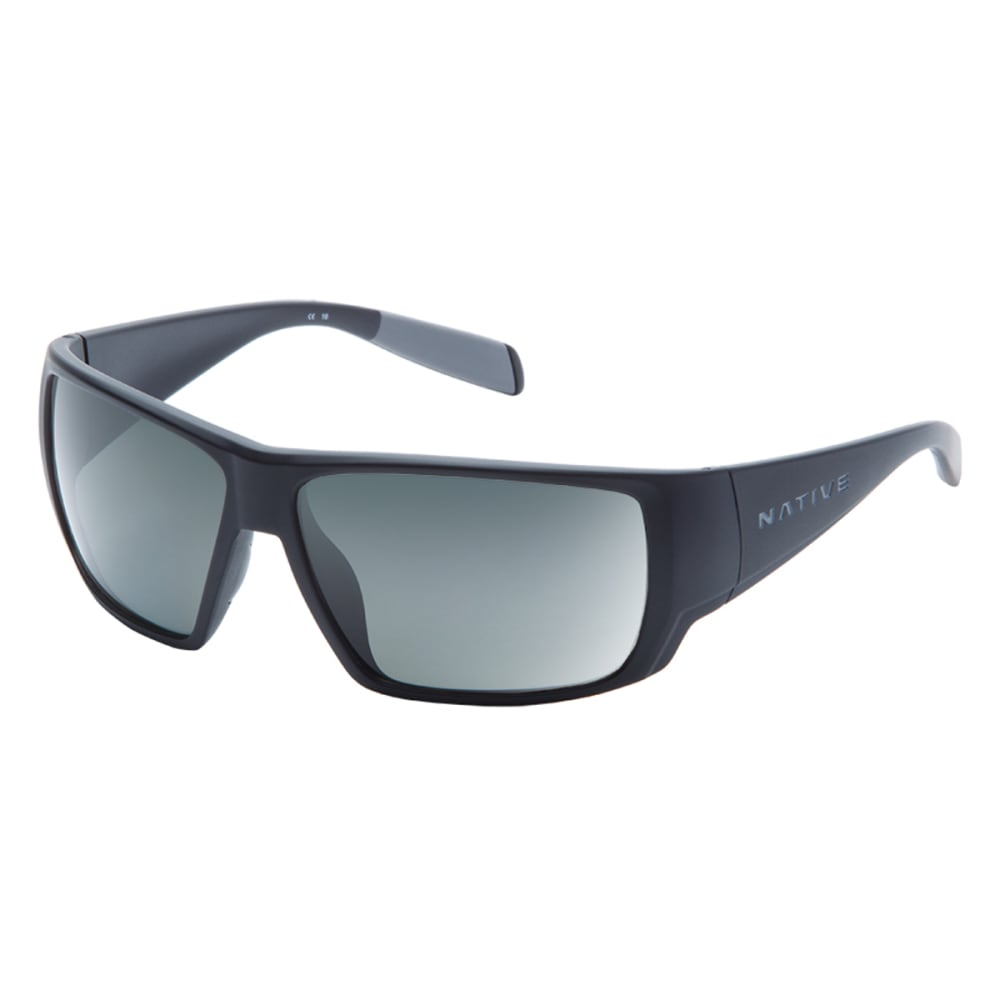 NATIVE EYEWEAR Sightcaster Polarized Sunglasses - MATTE BLACK