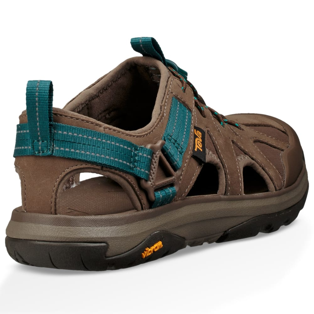 TEVA Women's Terra-Float Active Lace Hiking Sandals, Chocolate Chip - CHOCOLATE CHIP
