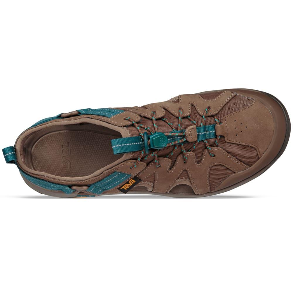 TEVA Women's Terra-Float Active Lace Hiking Sandals, Chocolate ...