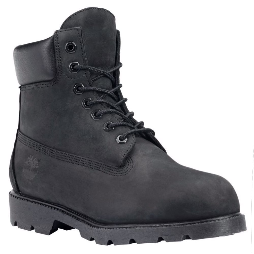 TIMBERLAND Men's 6 in. Basic Waterproof Insulated Work Boots - BLACK001