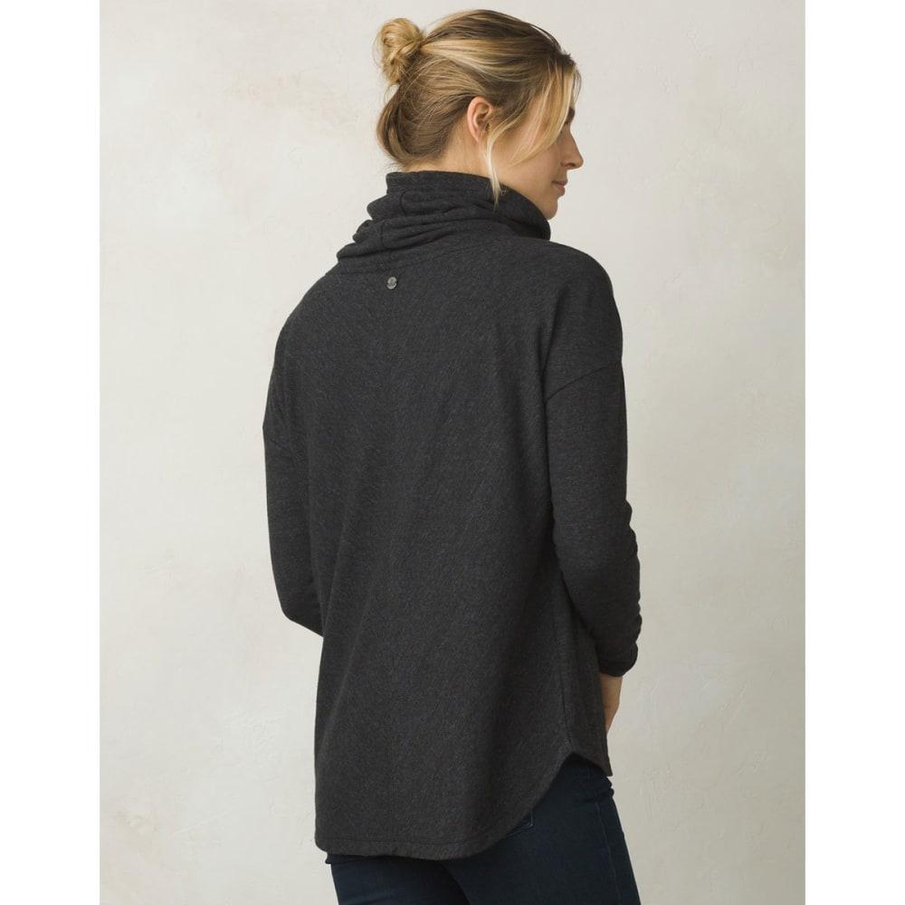 PRANA Women's Penelope Long-Sleeve Pullover - BLACK