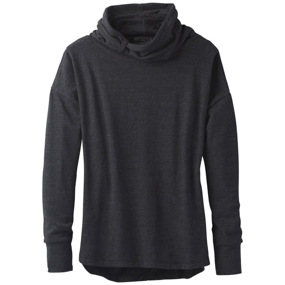PRANA Women's Penelope Long-Sleeve Pullover - BLACK