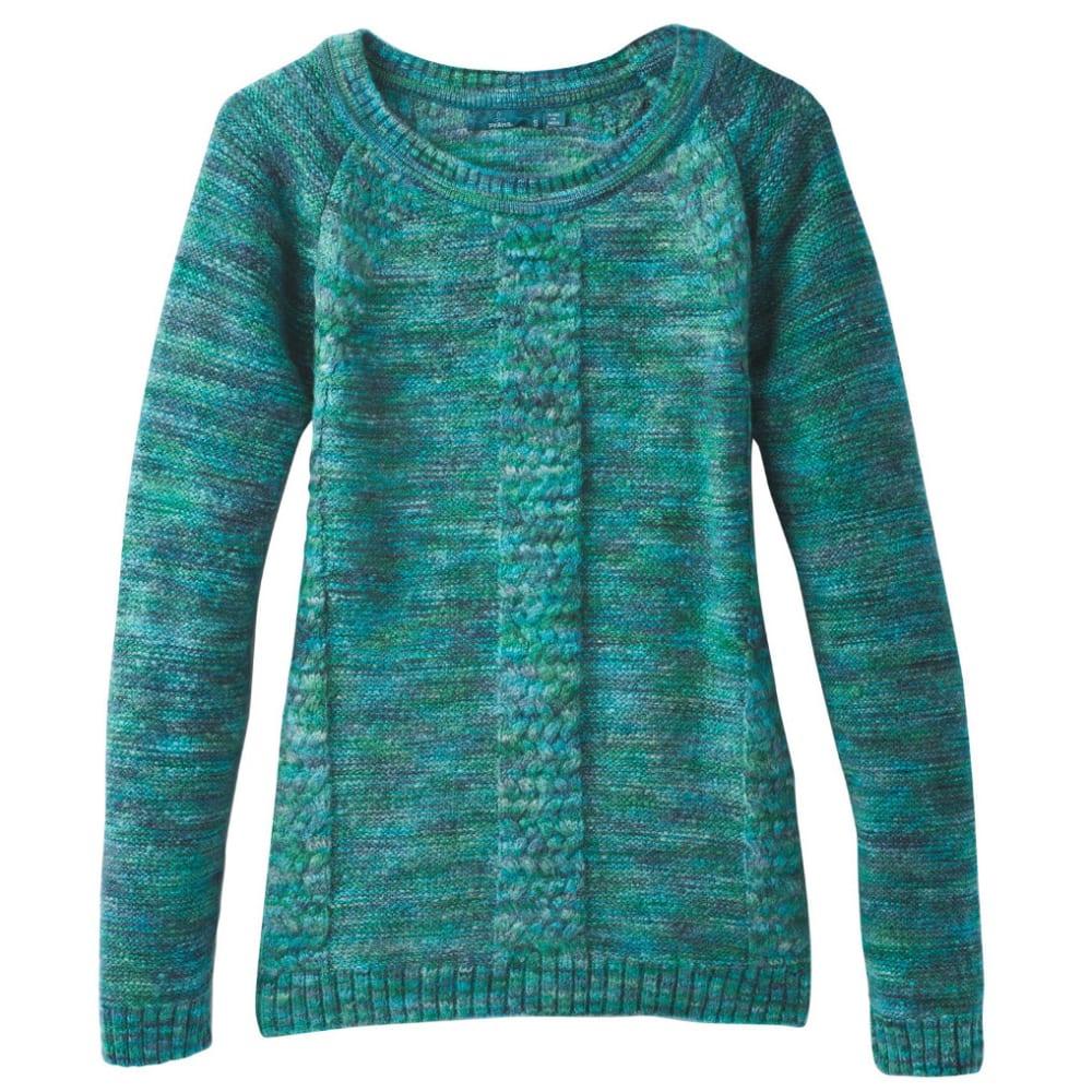 PRANA Women's Kerrolyn Sweater - DEEP BALSAM