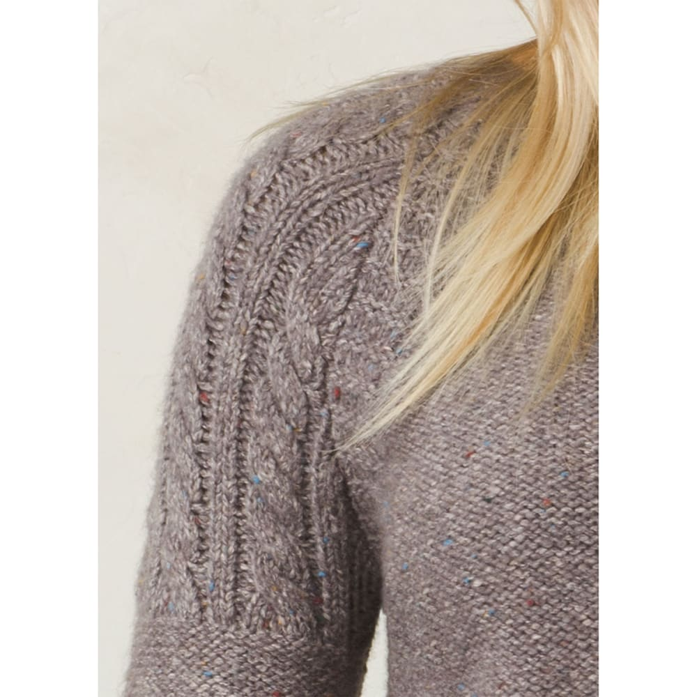 PRANA Women's Pia Long-Sleeve Sweater - MINTED TRUFFLE
