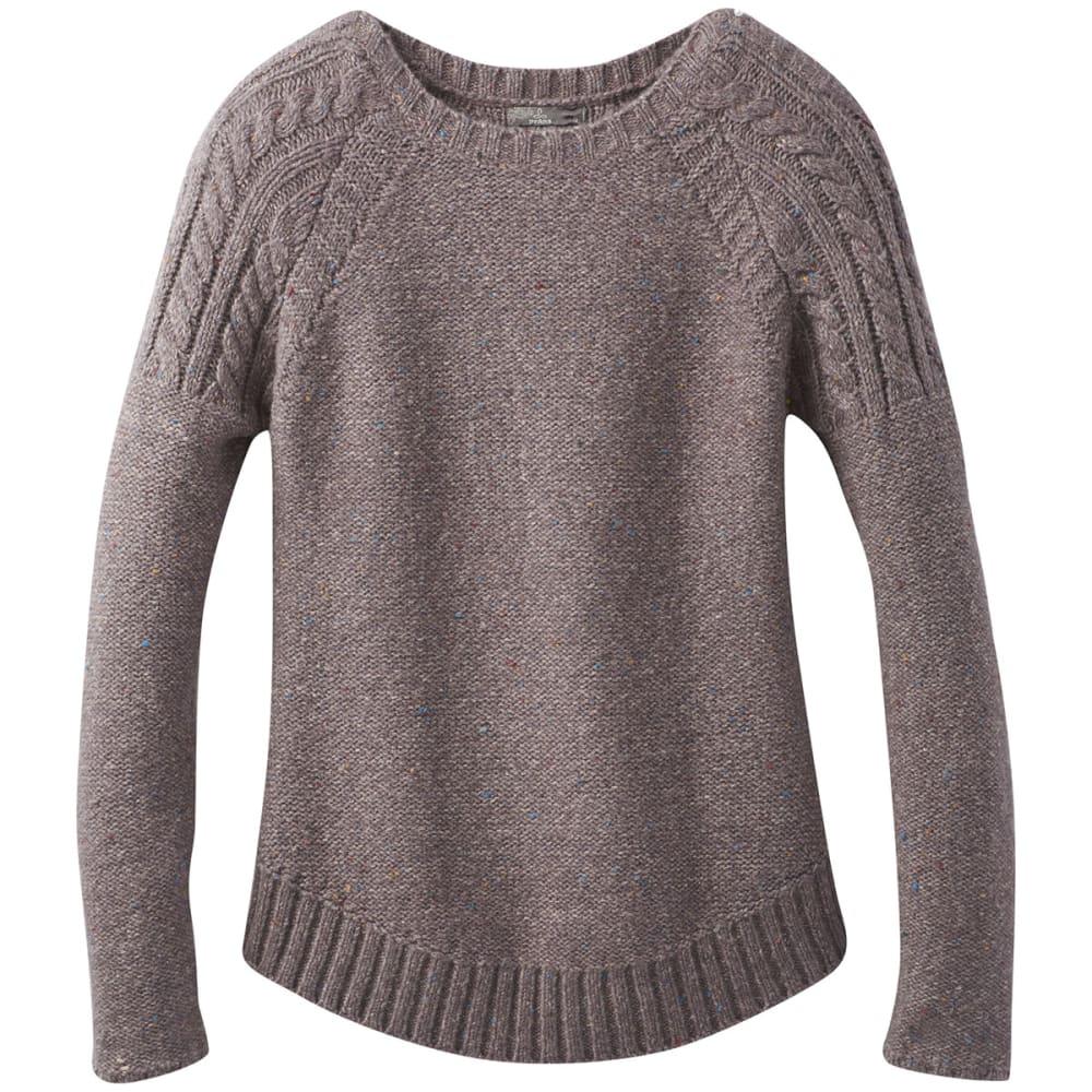 PRANA Women's Pia Long-Sleeve Sweater - MINTED TRUFFLE