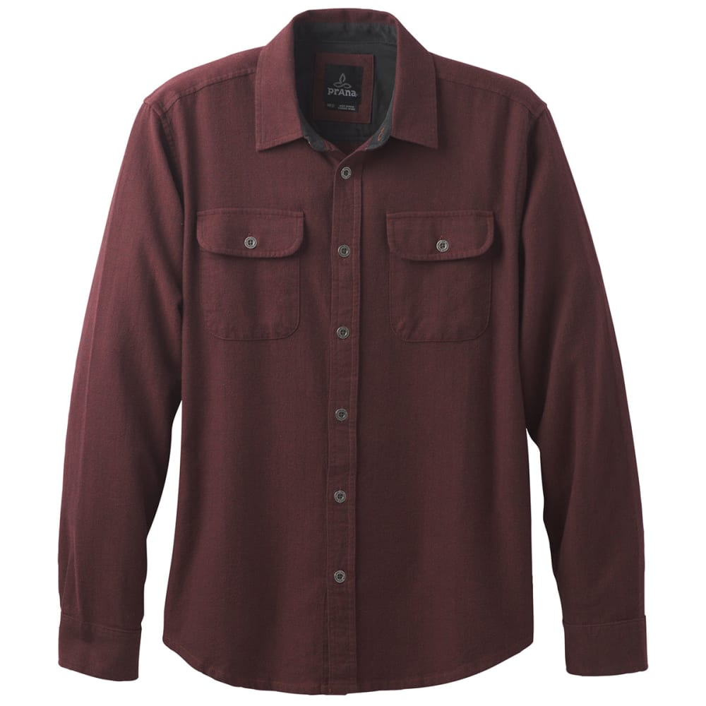 PRANA Men's Lybeck Flannel Long-Sleeve Shirt XS