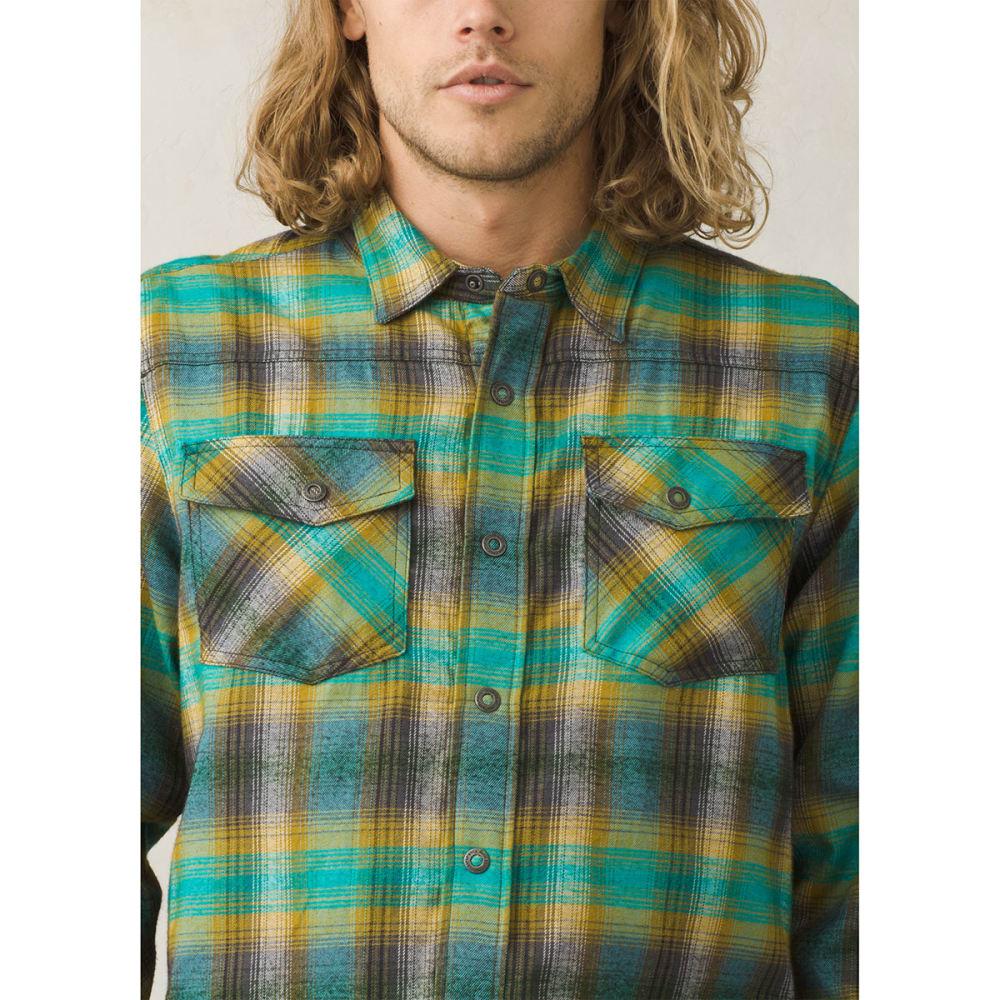 e5a211ca6 PRANA Men's Asylum Flannel Long-Sleeve Shirt