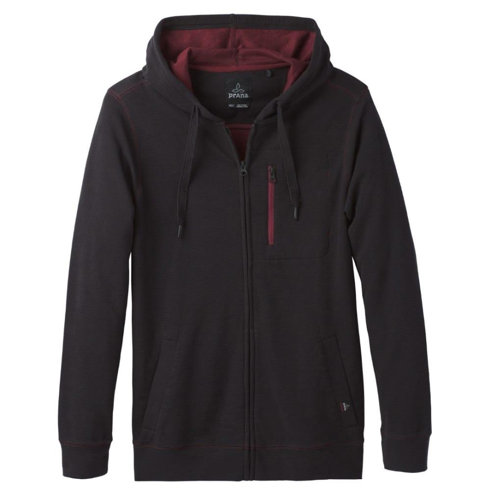 Prana Men's Wes Full Zip Hoodie - Black - Size M M21170407