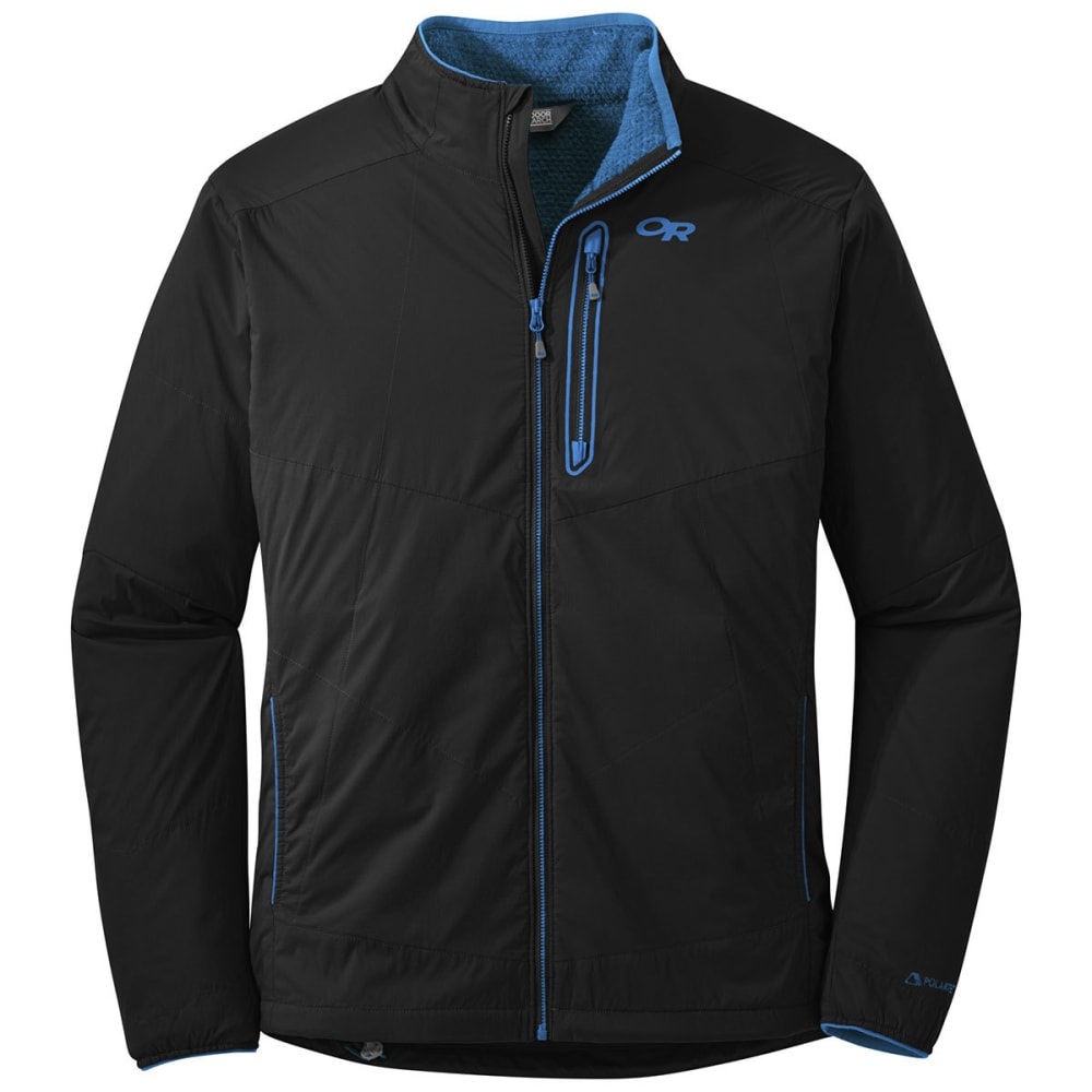 OUTDOOR RESEARCH Men's Ascendant Jacket - 0961-BLACK/TAHOE