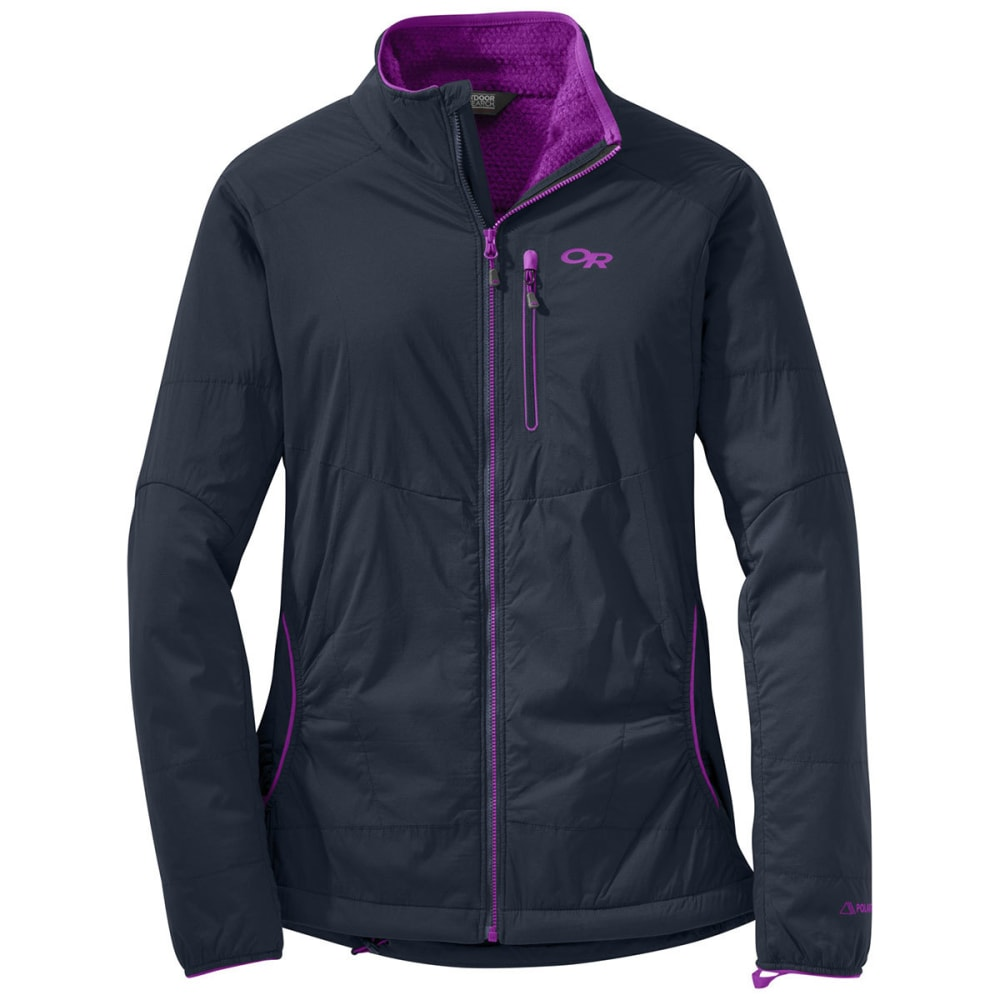 OUTDOOR RESEARCH Women's Ascendant Jacket - 0636-NIGHT/ULTRAVIOL