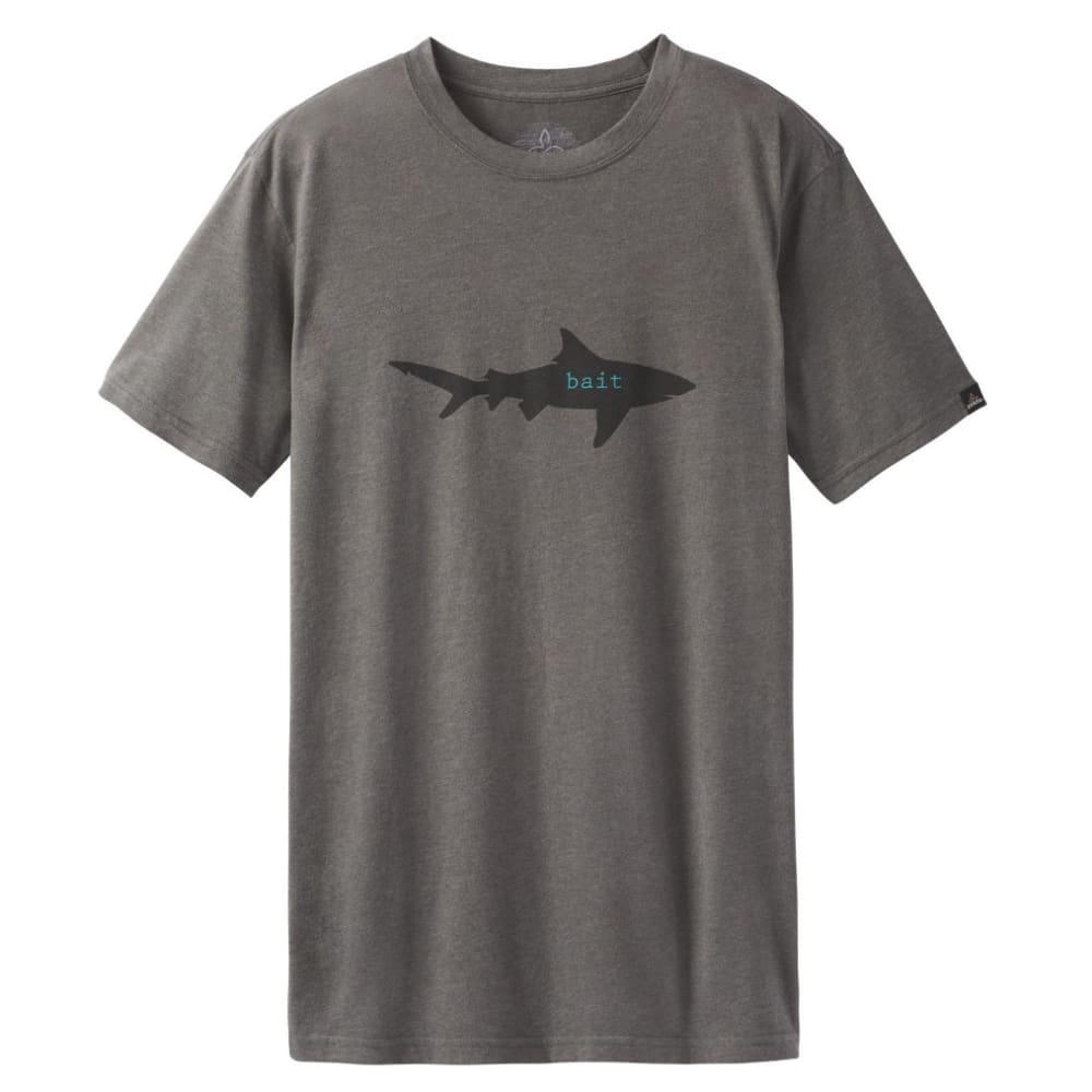 PRANA Men's Journeyman Slim Shirt - BAIT CHRCL HEATHER