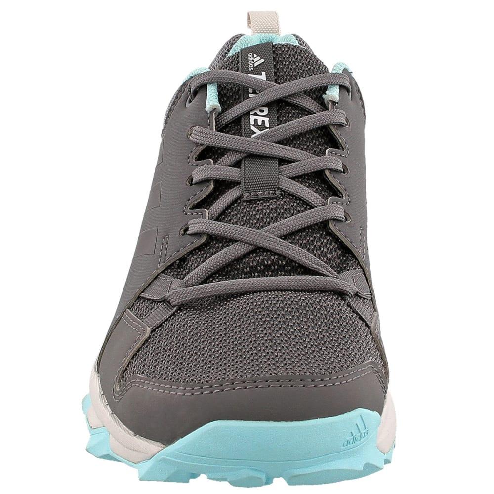 ADIDAS Women's Terrex Tracerocker Trail Running Shoes, Grey Five/Chalk White/Easy Coral - GREY