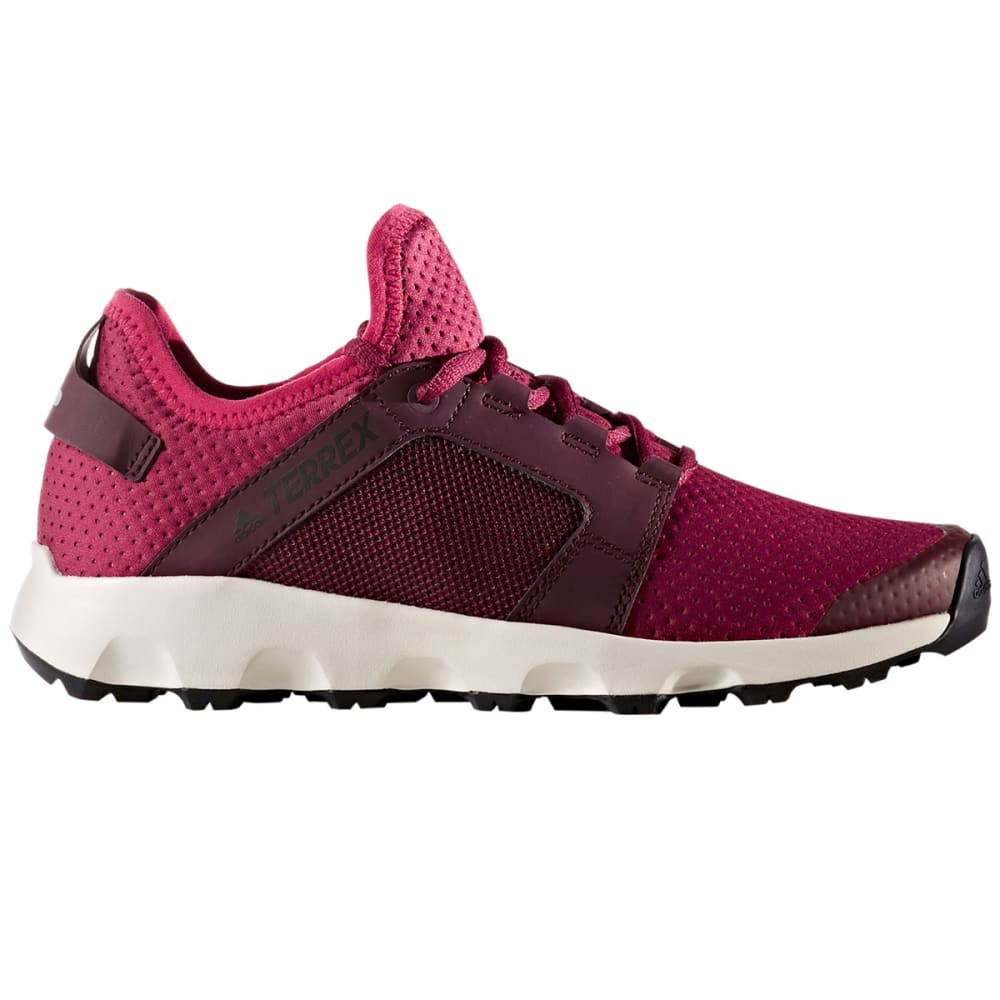 ADIDAS Women's Terrex Voyager DLX Outdoor Shoes, Mystery Ruby/Burgundy 5