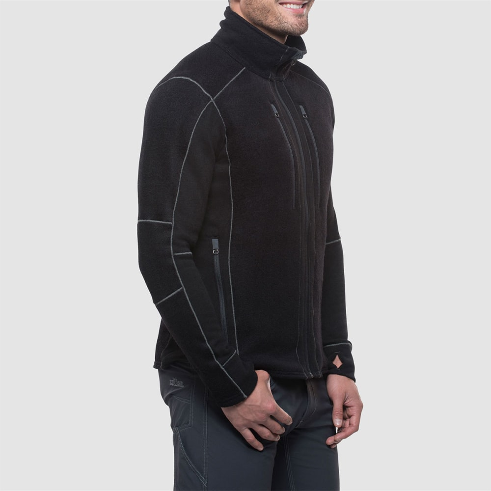 KUHL Men's Interceptr Fleece Jacket - BLACK