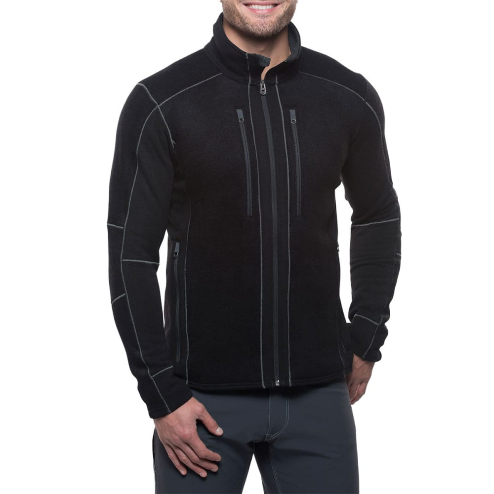 KUHL Men's Interceptr Fleece Jacket - BLACK-BK