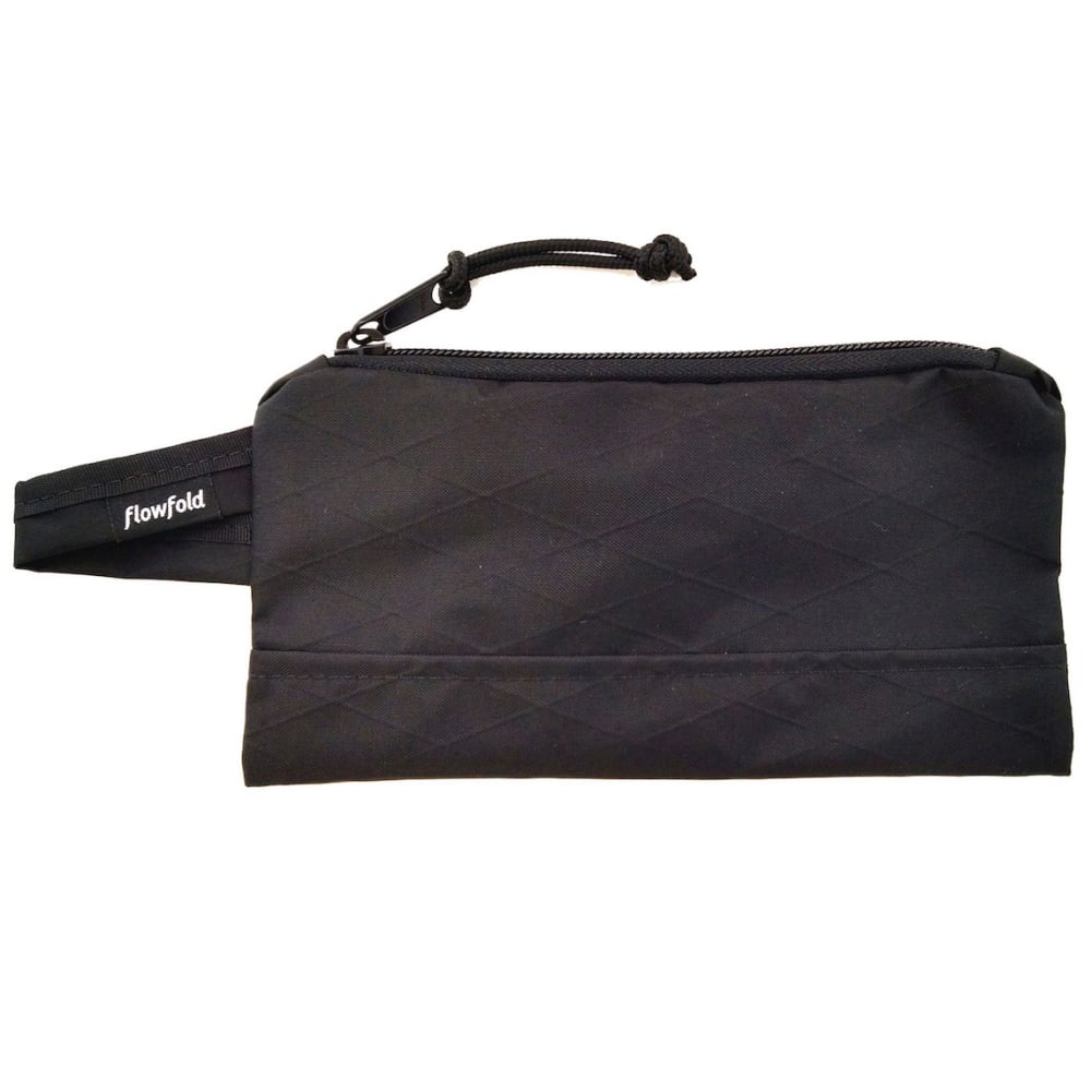 FLOWFOLD Ace Accessory Pouch - JET BLACK