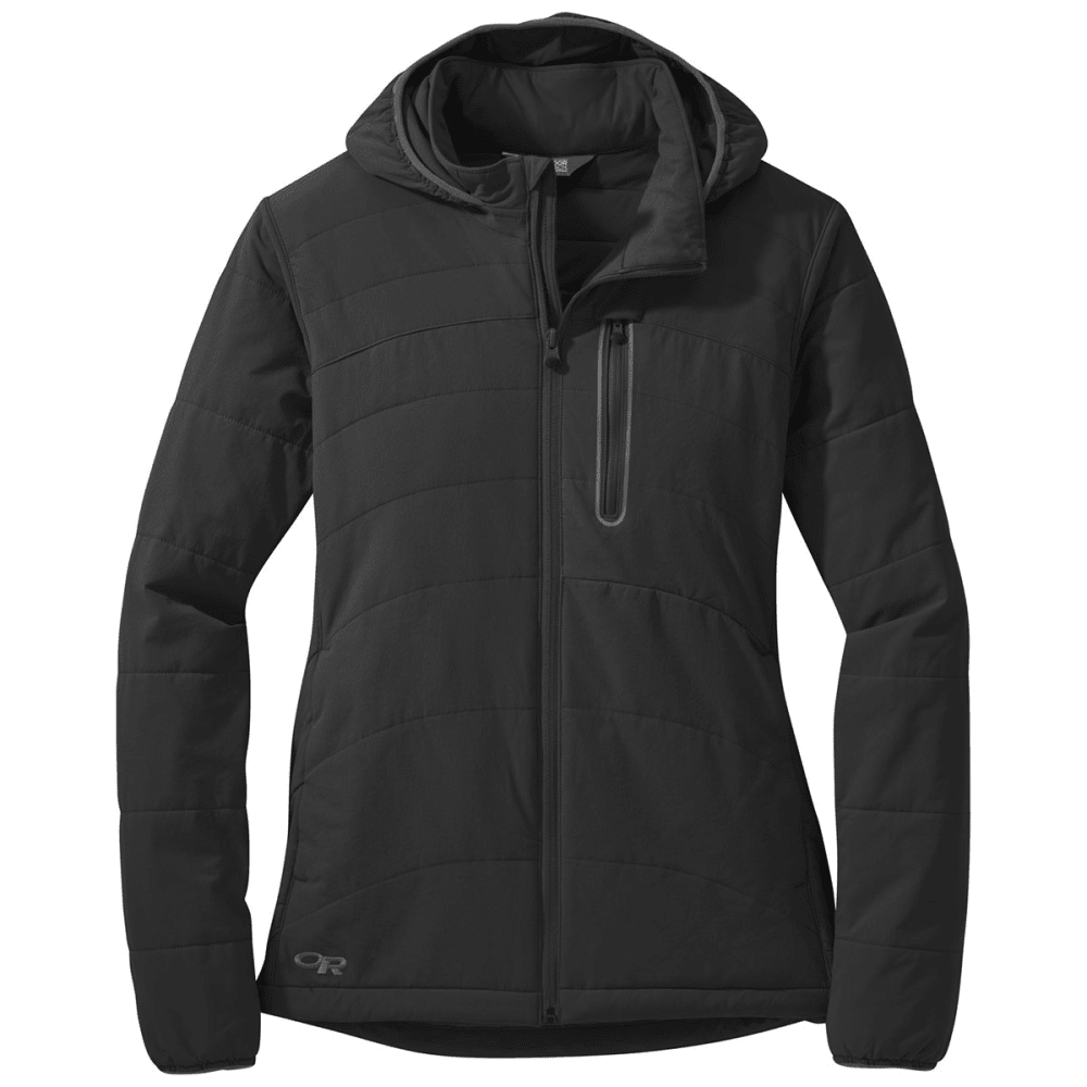 OUTDOOR RESEARCH Women's Winter Ferrosi Hoody - 0001-BLACK