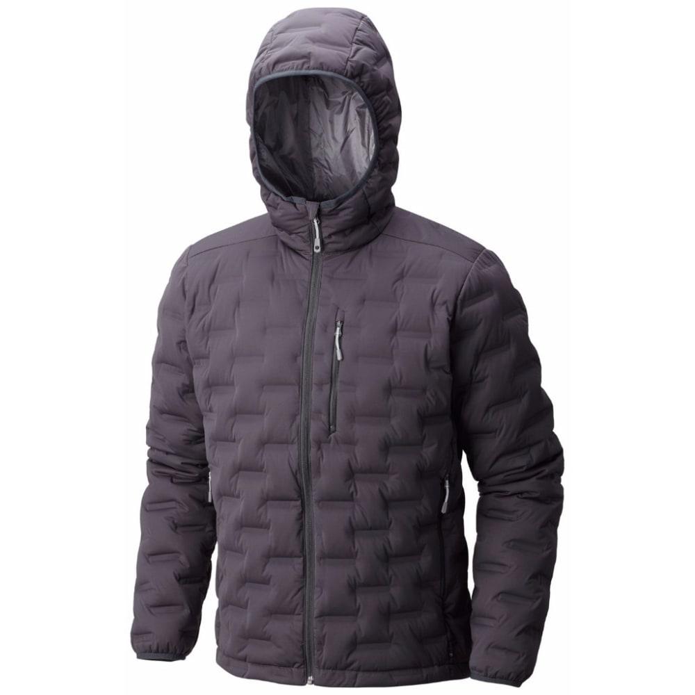 MOUNTAIN HARDWEAR Men's StretchDown DS Hooded Jacket - 011-SHARK