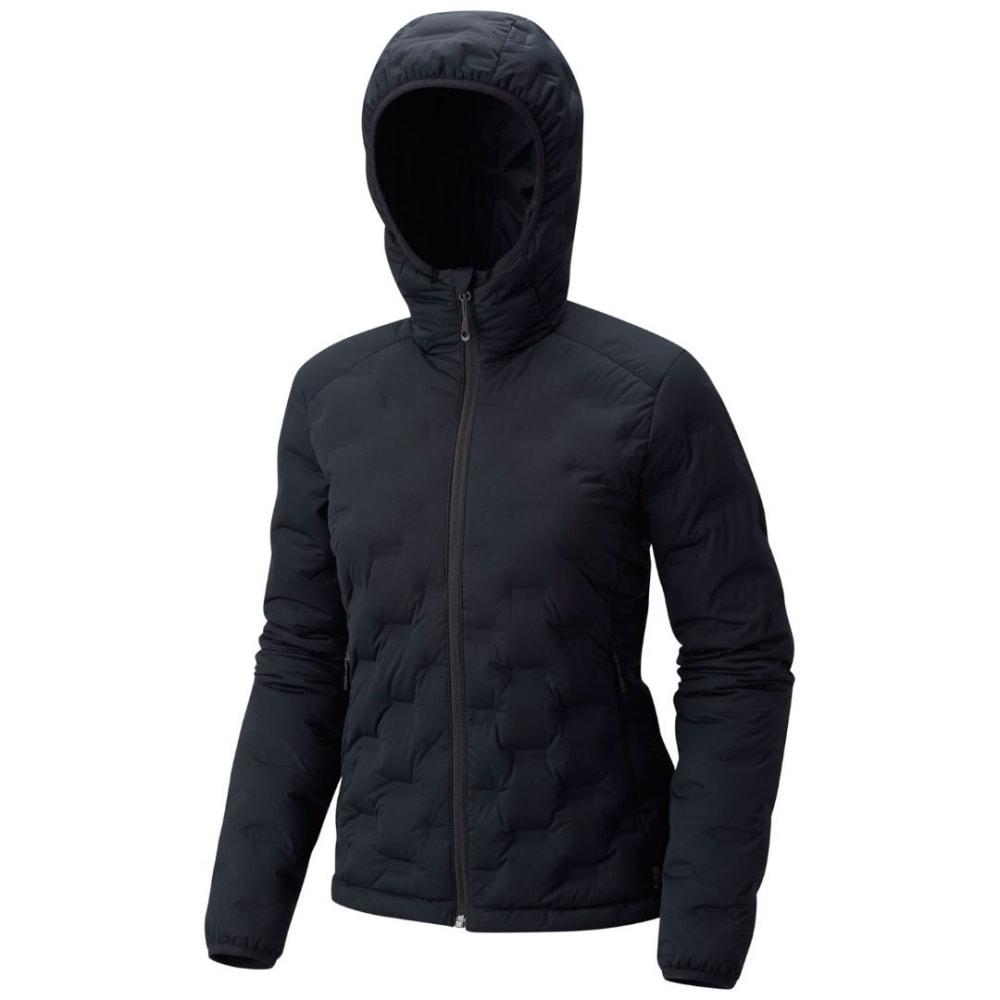 MOUNTAIN HARDWEAR Women's StretchDown DS Hooded Jacket - 010-BLACK