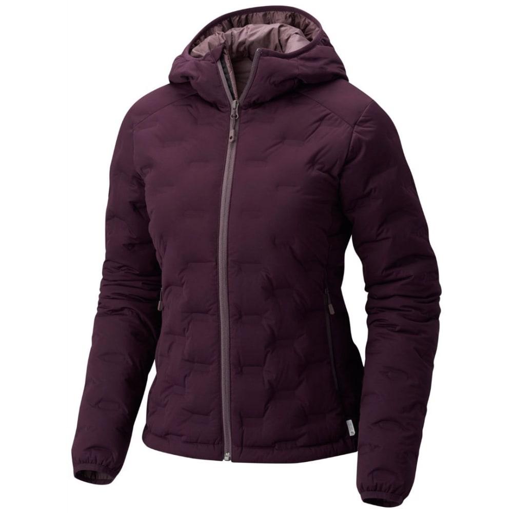 MOUNTAIN HARDWEAR Women's StretchDown DS Hooded Jacket - 509-DARK TANNIN
