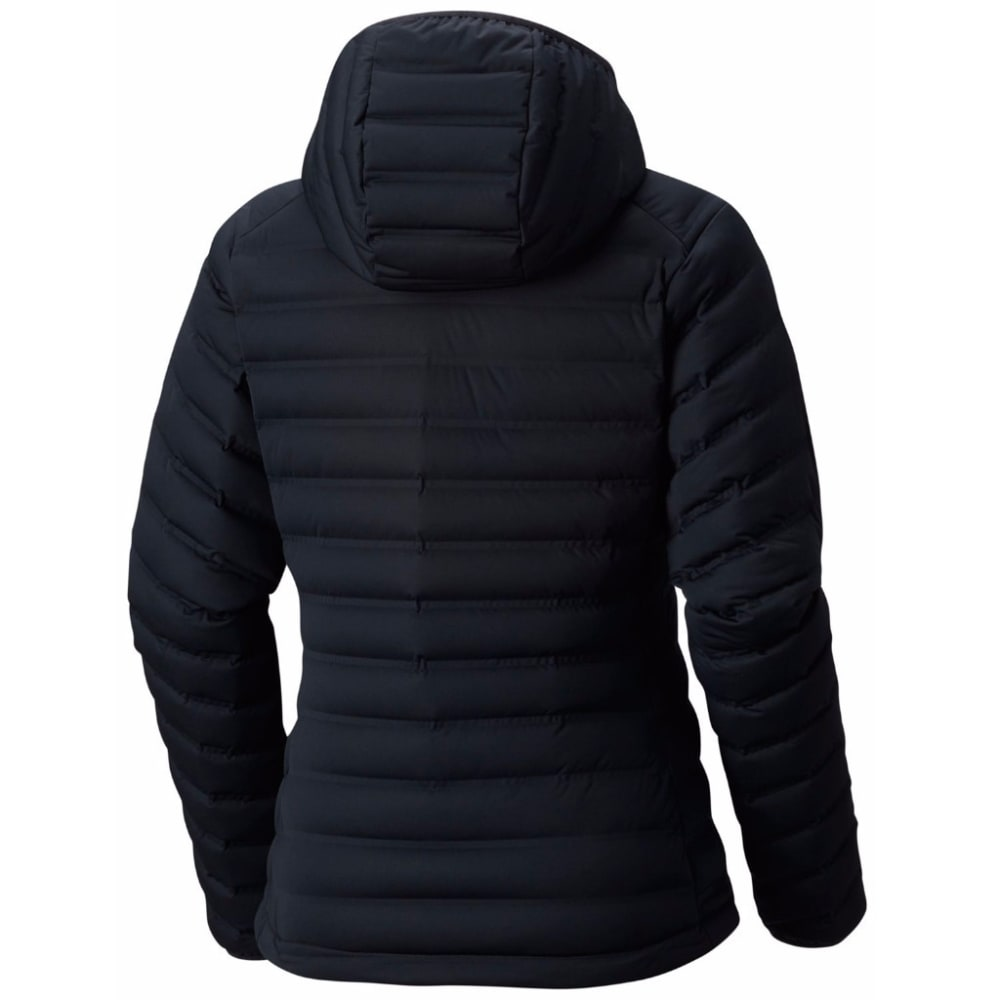 MOUNTAIN HARDWEAR Women's StretchDown Hooded Jacket - 010-BLACK