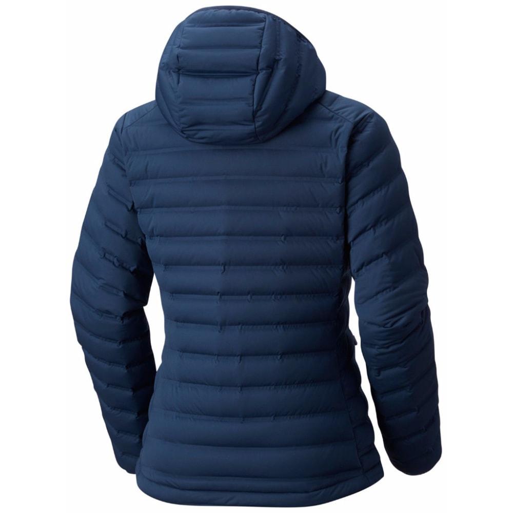 MOUNTAIN HARDWEAR Women's StretchDown Hooded Jacket - 492-ZINC