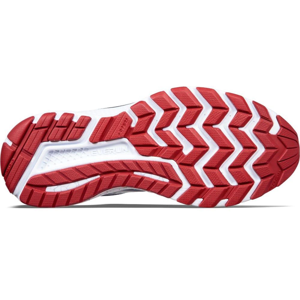 SAUCONY Men's Guide 10 Running Shoes, Grey/Black/Blue - GREY/NVY - 4
