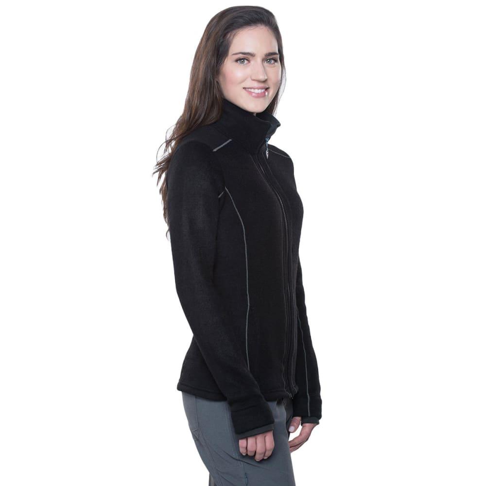 KUHL Women's Stella Full Zip Fleece Jacket - BLACK