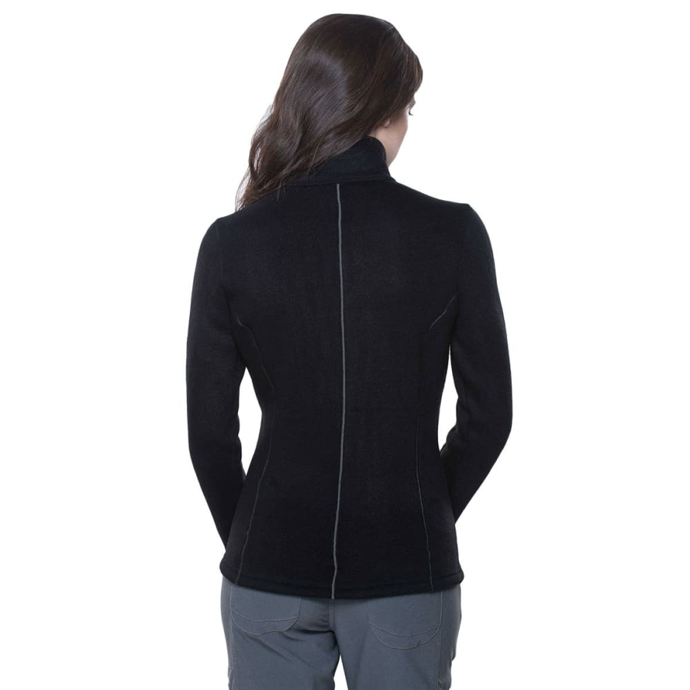 KUHL Women's Stella Full Zip Fleece Jacket - BLACK