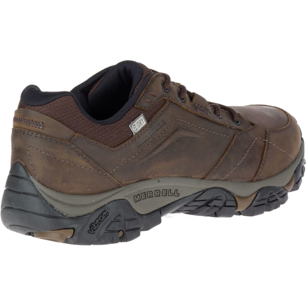 MERRELL Men's Moab Adventure Lace Waterproof Hiking Shoes, Dark Earth - DARK EARTH