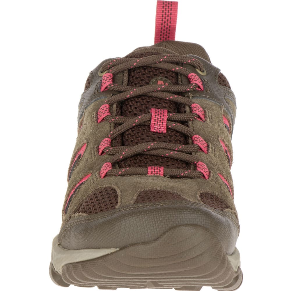 MERRELL Women's Outmost Ventilator Waterproof Hiking Shoes - CANTEEN