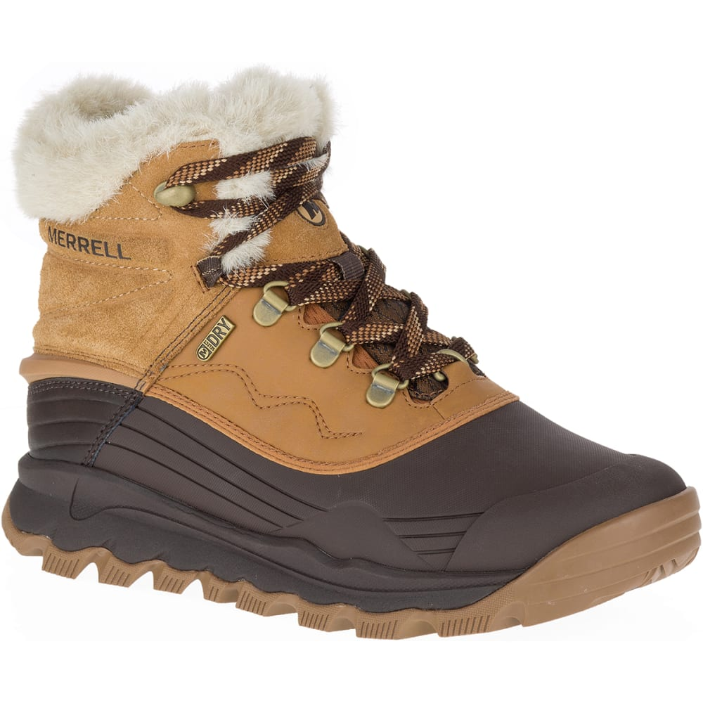 MERRELL Women's Thermo Vortex 6-Inch Waterproof Boots, Merrell Tan - TAN