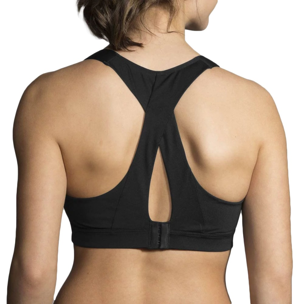 BROOKS Women's Juno Sports Bra - BLACK