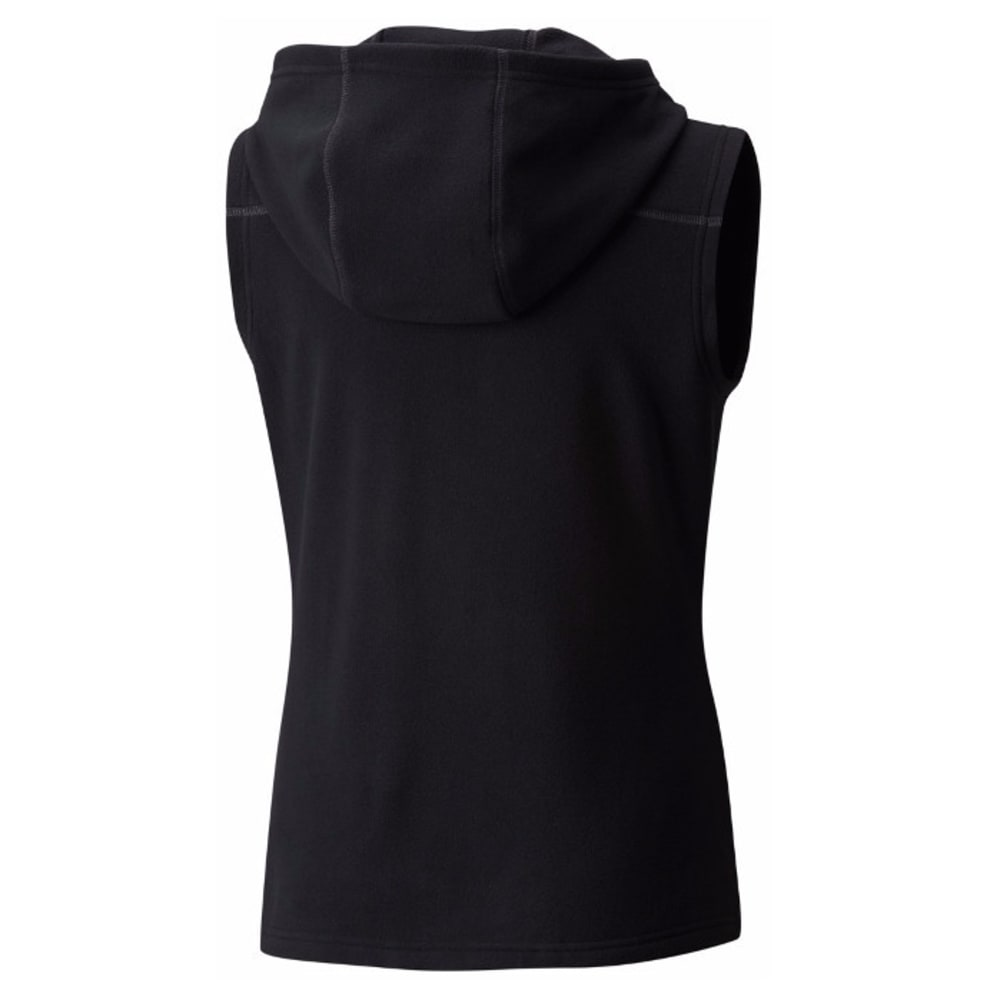 MOUNTAIN HARDWEAR Women's MicroChill Hooded Vest - 010-BLACK