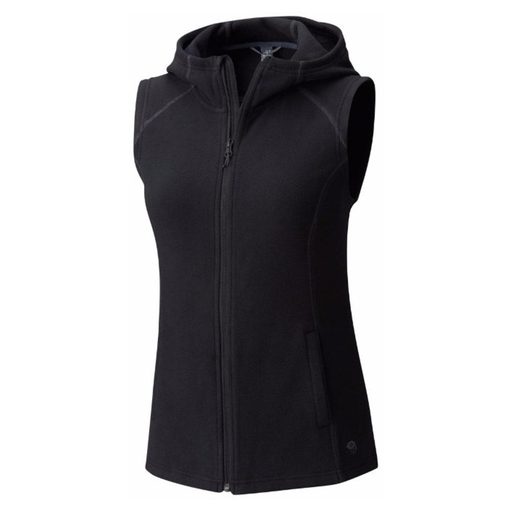 MOUNTAIN HARDWEAR Women's MicroChill Hooded Vest - 010-BLACK