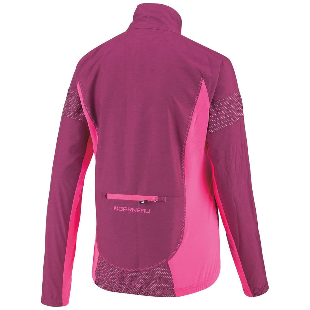 LOUIS GARNEAU Women's Modesto 3 Cycling Jacket - MAGENTA PURPLE