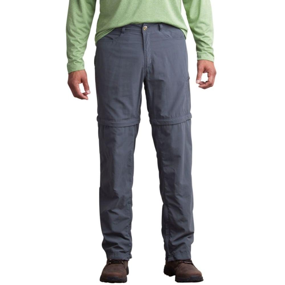 EXOFFICIO Men's BugsAway Sol Cool Ampario Convertible Pants - 9420-DARK PEBBLE
