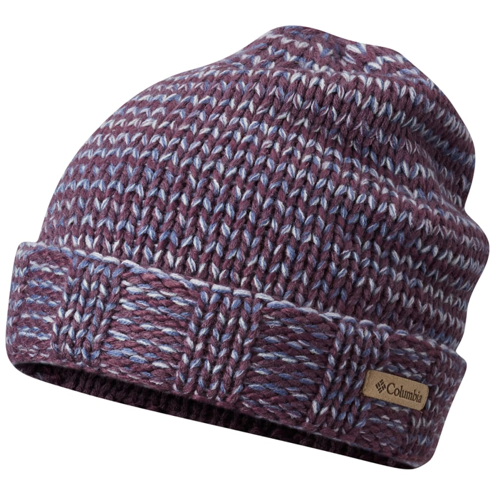 COLUMBIA Women's South Canyon Beanie - DUSTY PURPLE