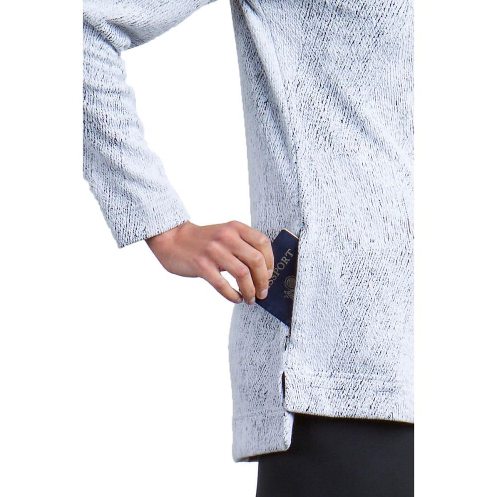 EXOFFICIO Women's Cordova Moire Cowl Tunic Top - 9999-BLACK