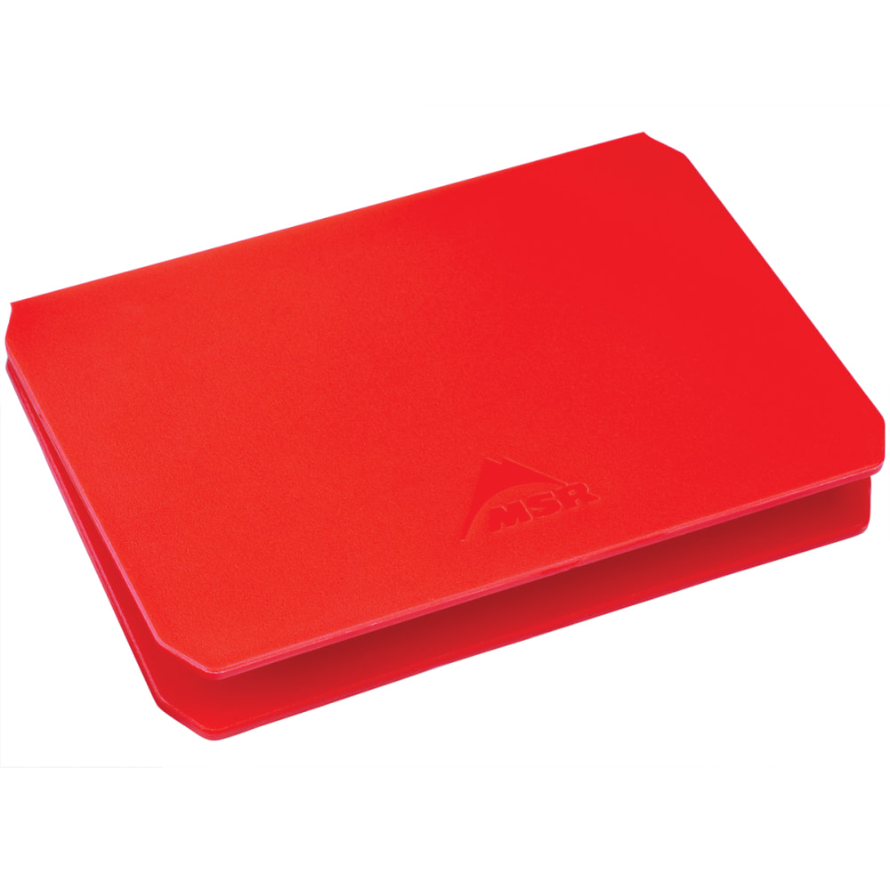 MSR Alpine Deluxe Cutting Board - RED