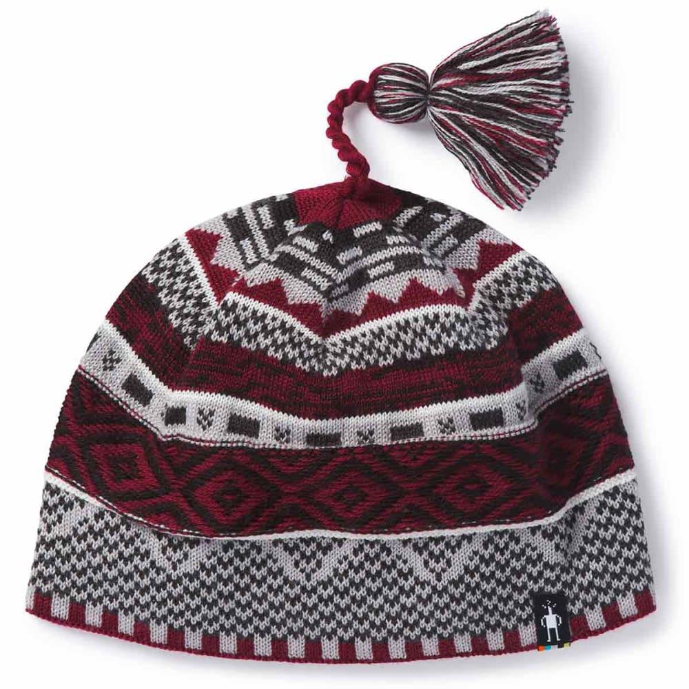 SMARTWOOL Women's Dazzling Wonderland Beanie - A25-TIBETAN RED