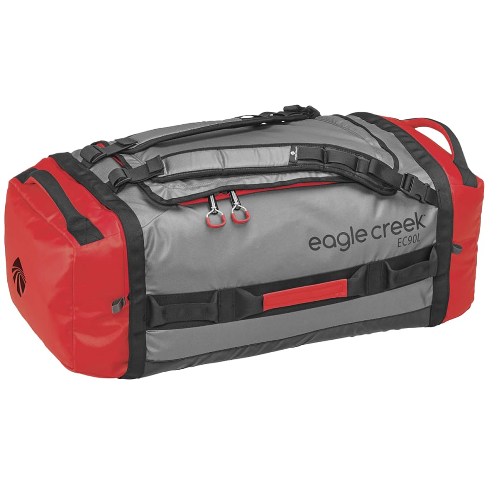 EAGLE CREEK Cargo Hauler Duffel Bag, Large - CHERRY/GREY