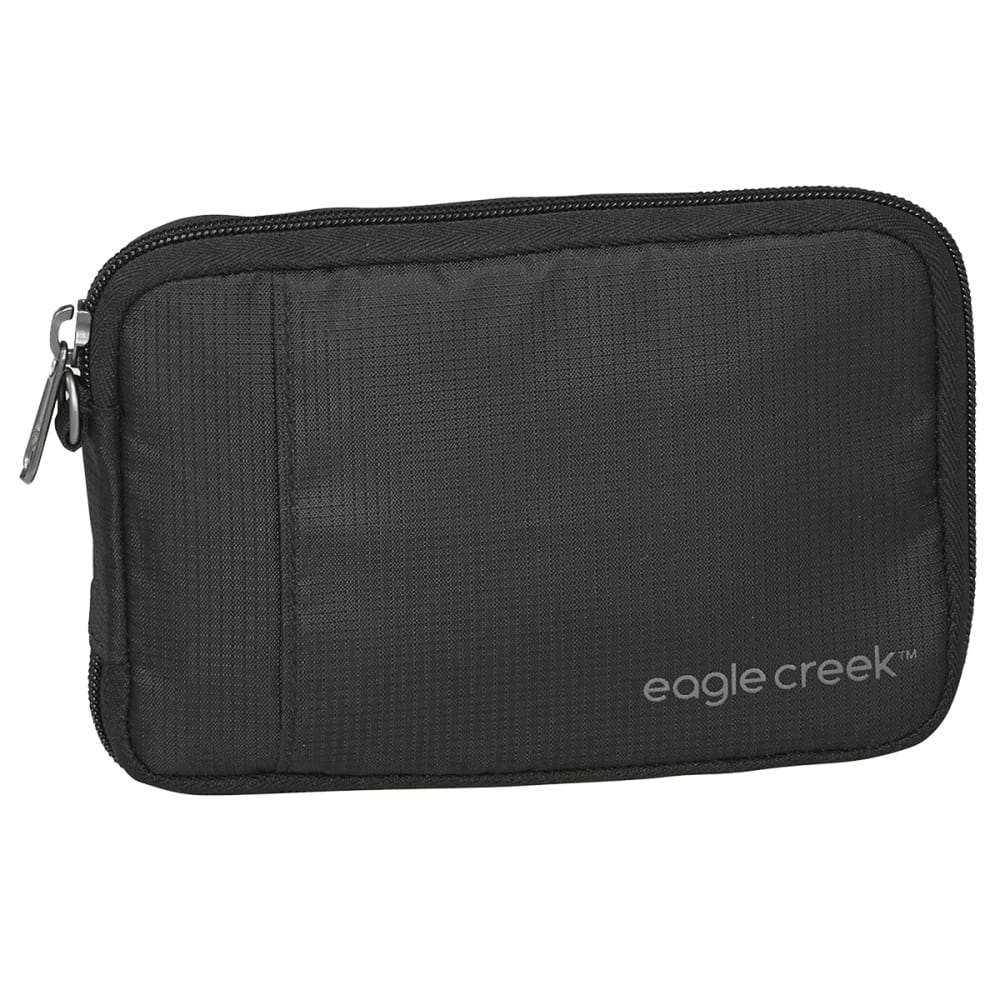 EAGLE CREEK RFID Travel Zip Wallet - BLACK