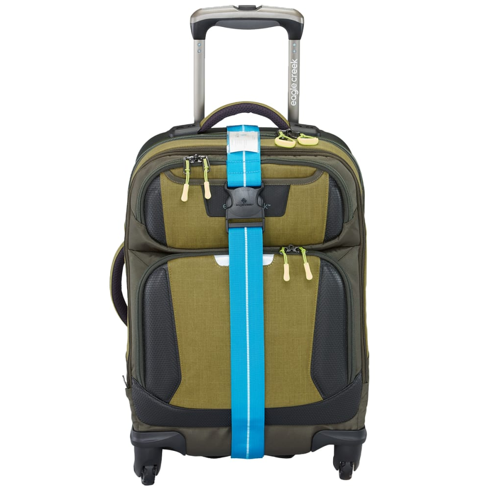 EAGLE CREEK Reflective Luggage Strap - BRILLIANT BLUE