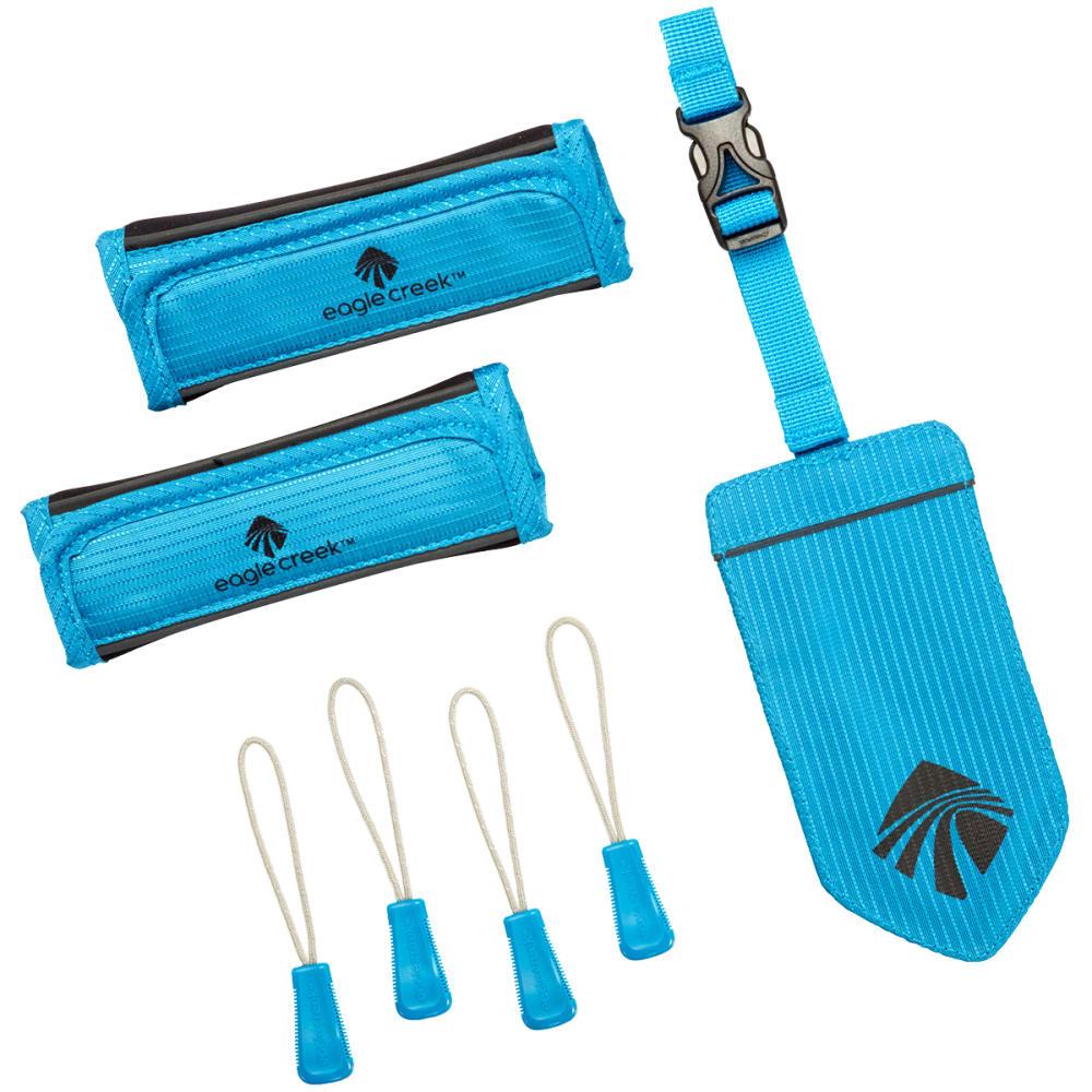 EAGLE CREEK  Reflective Luggage ID Set - BRILLIANT BLUE